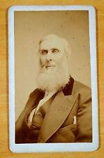 HENRY GRAHAM THOMPSON of Enfield CT 1818-1903 Photograph cdv ROCKWOOD NY