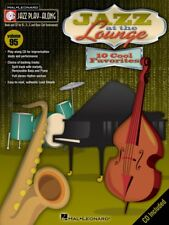 Jazz at the Lounge Jazz Play Along Book and CD NEW 000843144