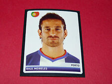 234 RAUL MEIRELES PORTO UEFA PANINI FOOTBALL CHAMPIONS LEAGUE 2006 2007