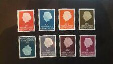 Nederlands Nieuw Guinea nrs 30 - 37 ongebruikt dus met plakker (a3, 3, 1418)1954