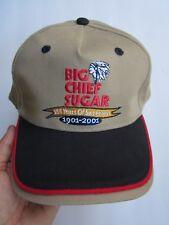 BIG CHIEF SUGAR 100 YEARS OF SWEETNESS 1901-2001 LTD ED. HAT CAP, OSFM, NWOT!