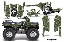 ATV Graphics Kit Decal Wrap For Polaris Sportsman 400 500 1995-2004 REAPER GREEN