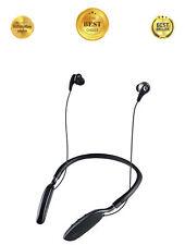 Bluetooth Wireless Headphones Neckband Stereo Headset In-ear Earbuds w/ Mic, NEW