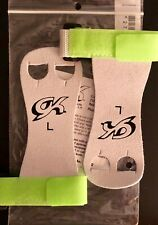 Was $15.99 Nwt! Gk Elite Sportswear Hand Grips With Strap #Gk32 Green Size Large