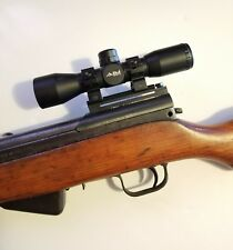 SKS SCOPE AND MOUNT COMBO. STEEL NON SEE THRU MOUNT. 4X32MM SCOPE. 7.62X39