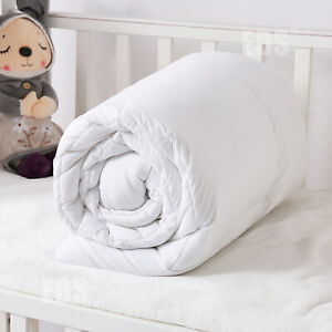 Luxury Kids Toddler Baby Cot Bed Duvet Anti-Allergy Quilt With Pillow Ultra Soft
