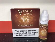VENOM VAPES #16 COLA BLIZZARD. COLA & CRUSHED ICE 6mg Nic, 3 x 10ml Bottle