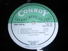 LIBRARY CONROY/BERRY MUSIC BLMP029 10inch LP´66 Lionel Baron/A.Gunn u.a.*RAR*