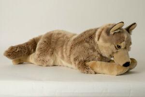 Plüschtier Wolf 71 cm, Jumbo, Deko, Stofftier Stofftiere Kuscheltiere Tier Wölfe