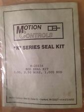 MOTION CONTROLS K SERIES R-20636 ROD SEAL KIT, NEW IN FACTORY PACK.