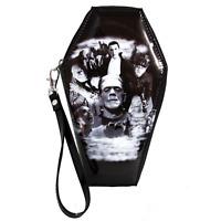 Rock Rebel Women's Monster Collage Coffin Wallet Horror Goth UM-WAL80-COLLAGE