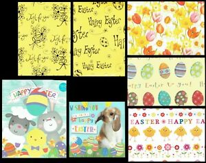 Quality EASTER WRAPPING PAPER Or GIFT BAG - 2 sheets Gift Wrap or 1 bag