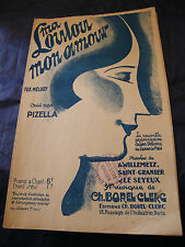 Partition Ma loulou mon amour Pizella 1927 Music Sheet