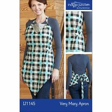 """INDYGO JUNCTION """"VERY MARY APRON"""" Sewing Pattern"""