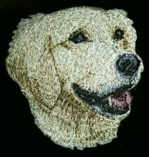 """2.5"""" Golden Retriever Dog Breed Portrait Embroidery Patch"""