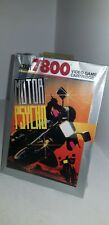 NEW W/CRUSHED BOX MOTOR PSYCHO GAME FOR ATARI 7800 PAL VERSION (NOT FOR USA) A13