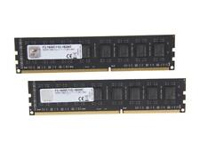 G.SKILL Value 16GB (2 x 8GB) 240-Pin DDR3 SDRAM DDR3 1600 (PC3 12800) Desktop Me