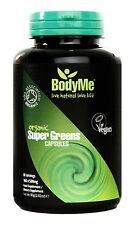BodyMe Raw Organic Super Greens 500mg Capsules x 160 Soil Association Certified