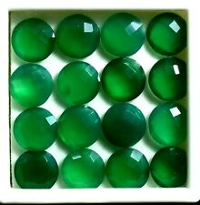 Green Onyx 6mm Cabochon Round Loose Gemstones with Multi-Quantity Discounts