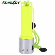 5000 Lumens XM-L T6 LED Underwater 130M Scuba Diving Flashlight Torch 18650 Lamp