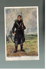 1918 Belgium Military Feld Post postcard Cover to Canada WW 1 Army Solder