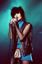 "12""*8"" concert photo of Siouxsie playing at Coventry in 1981"