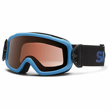 Smith Optics Sidekick Kids Ski Snow Goggles NEW Blue Boys Girls Children Small