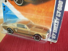 Hot Wheels '67 Shelby GT-500 Muscle Mania Gold