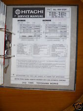 Manual de servicio para Hitachi t-22l/21l 55l/51l ORIGINAL