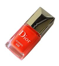 "Dior Vernis Haute Couleur Extreme Wear Nail Lacquer 448 Sunnies ""Hot Orange"""