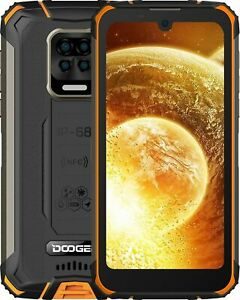 Rugged Smartphone, DOOGEE S59 Android 10, 4GB+ 64GB, 16MP + 8MP Four Cameras