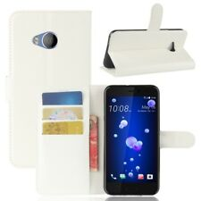 Cover Wallet Premium White For HTC U11 Life Case Pouch Protective Accessories