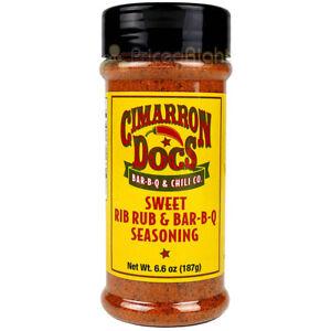 Cimarron Docs BBQ Sweet Rib Rub & Bar-B-Q Seasoning 6.6 Oz Award Winning Blend