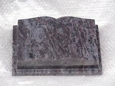 """Buch Granit """"Orion Blue"""" 30 x 20 x 8 cm / Grabstein"""