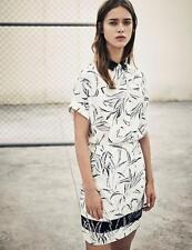 All Saints Mario Willow Dress in Chalk White Size UK 10 BNWT £188