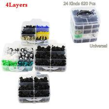 620Pcs Plastics Push Fastener Clips For Car Door Bumper Side Skirt Moulding Trim