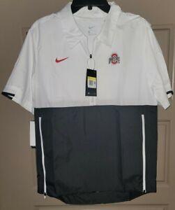 Nike Ohio State Football Coach On-Field Windbreaker Jacket CQ5177-100 Sz. Sm NWT