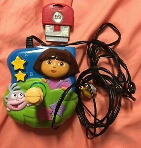 Dora The Explorer: Nick Jr. Plug N Play TV Game w/ Game Key Port Tested Working