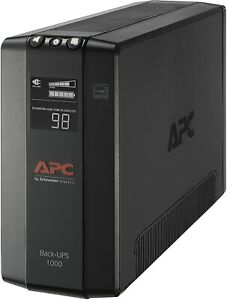 APC BX1000M-LM60 Back-UPS Pro 1000VA Battery Back-Up System - Black, Brand New