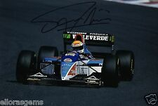 "Formula One F1 Driver Pierluigi Martini Hand Signed Photo 12x8"" AB"