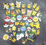Lot 50pcs color Pokemon go Cartoon mix DIY Metal Charms Jewelry Making pendants