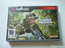 Ghost Recon Jungle Storm / NOKIA N-Gage [ Pal Version ] [ New / Sealed ]