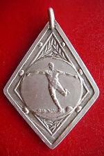 Antique 1930-31 Football Soccer G.C.B Division Ii Adherent Silvered Award Medal