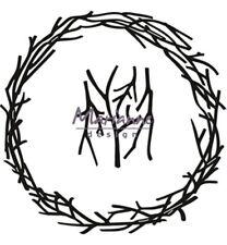 Marianne Design CrafTables Branch Wreath CR1419