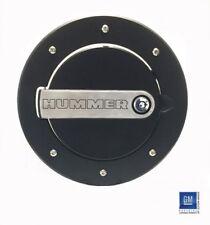 DefenderWorx Hummer H3 & H3T Fuel Door H3PPT08060 Black Two-Tone Lockable