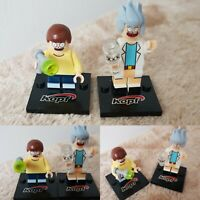 BRAND NEW Rick And Morty figures 2pcs Set mini building blocks FREE UK DELIVERY