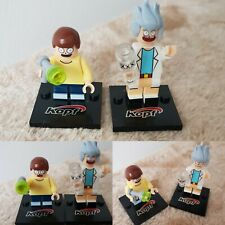 BRAND NEW Rick And Morty Lego figures 2pcs Set FREE UK DELIVERY