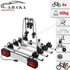 Fahrradträger Anhängerkupplung 4 Fahrräder Heckträger abschließbar eBike AHIRO4