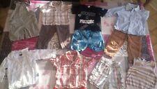 Lot vêtement garçon été 18 mois (chemises,salopette, shorts, t-shirts ...)