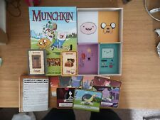 Steve Jackson's Munchkin Adventure Time Game. Out of print. Great condition used